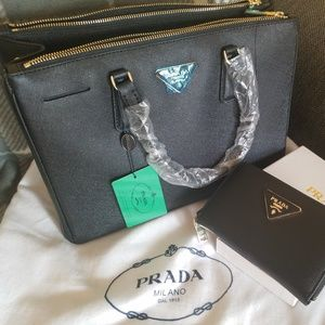 PRADA Hand Bag with Wallet